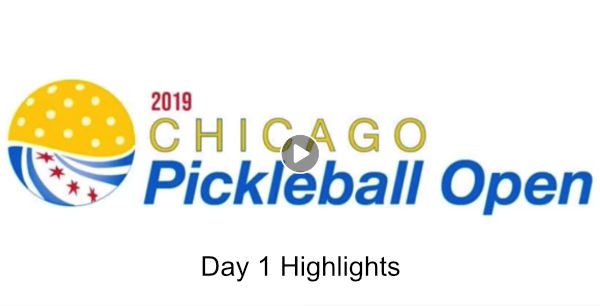 Chicago Pickleball Open Day 1