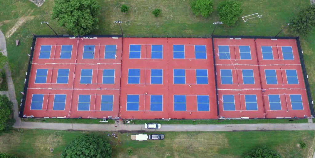 Pickleball courts image